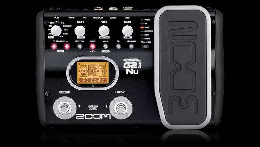 G2.1Nu Guitar Effects & USB Audio I/F Pedal