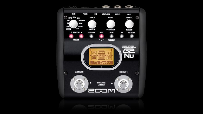 Zoom G2Nu Guitar Effects Pedal
