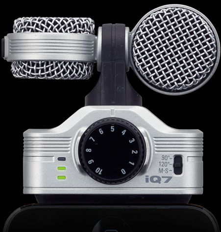 Zoom iQ7 iPhone Microphone for iOS