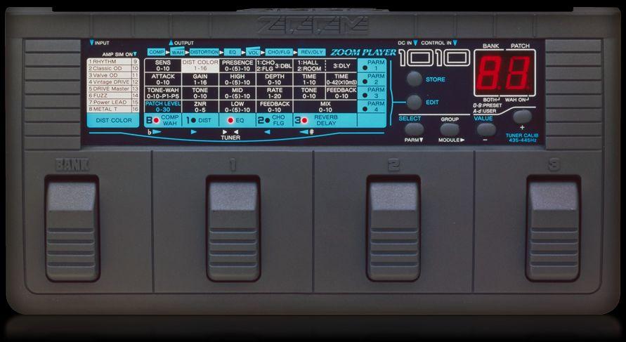 Zoom 1010 Advanced Guitar Effects Processor