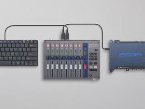F-Control with F8, USB Keyboard