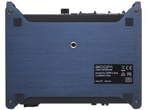 Zoom F8 MultiTrack Field Recorder: Bottom