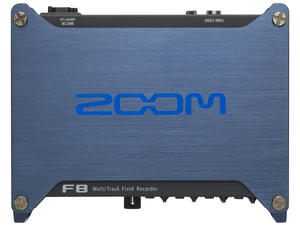 Zoom F8 MultiTrack Field Recorder: Top