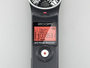 Zoom H1 Handy Recorder - Top View