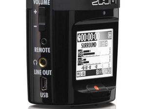 Zoom H2n Handy Recorder - Left Side