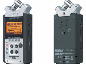Zoom H4n Handy Recorder: Both sides