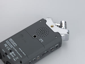 Zoom H4n Handy Recorder: Rear speaker