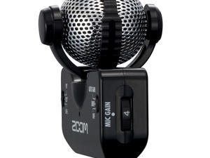 Zoom iQ5 Professional Stereo Microphone for iOS - Right Side (Black)