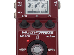 Zoom MS-60B MultiStomp Bass Pedal - Top View