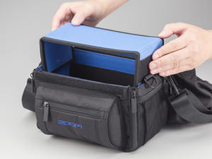 Zoom PCF-8 Protective Case for Zoom F8: Tray Prep