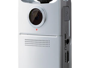 Zoom Q2HD Handy Video Recorder - front slant view