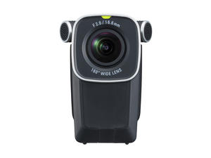 Zoom Q4n: Front, Mic Off