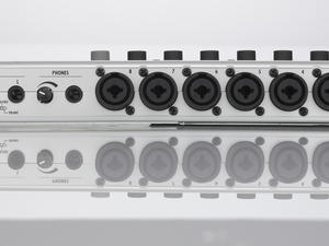 Zoom R24 Recorder : Interface : Controller : Sampler - Rear View