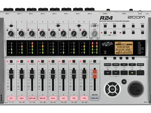 Zoom R24 Recorder : Interface : Controller : Sampler - Top View