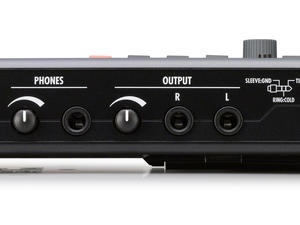 Zoom R8 Recorder : Interface : Controller : Sampler - Rear View