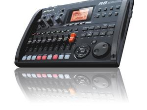 Zoom R8 Recorder : Interface : Controller : Sampler - Large Slant