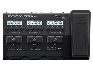 Zoom G3Xn: Top View