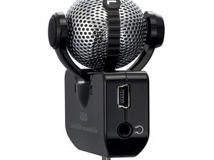 Zoom iQ5 Professional Stereo Microphone for iOS - Left Side (Black)